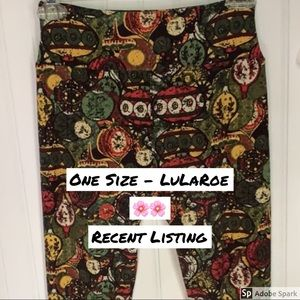 EUC One Size LuLaRoe Ornament Leggings